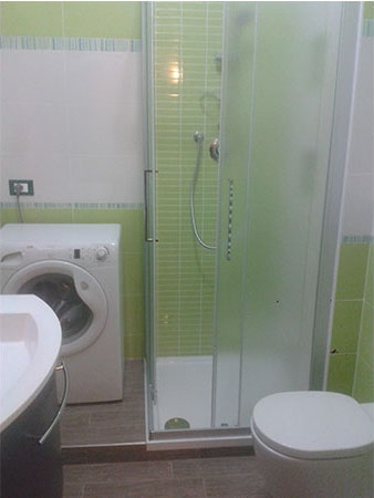 Simple img with bagno colorato - Bagno verde mela ...