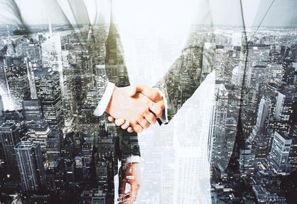 New partnership! New partnership!
