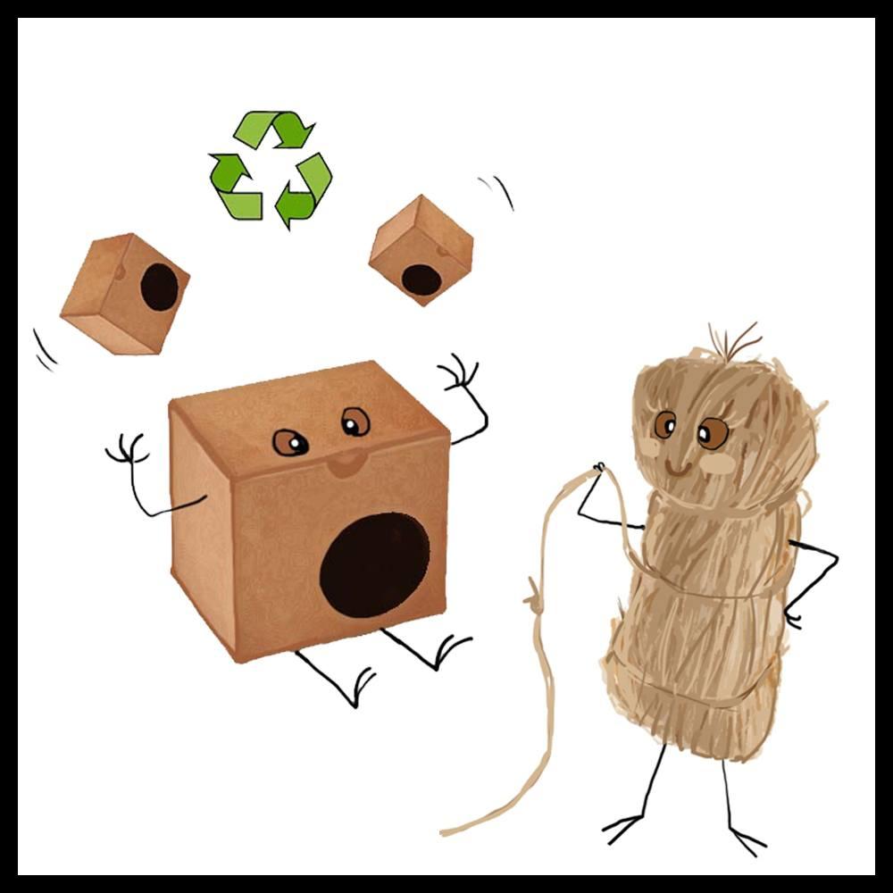 Attenzione, qui si ricicla