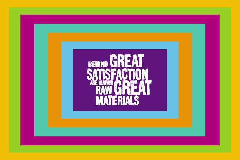 Behind great satisfactionBehind great satisfaction