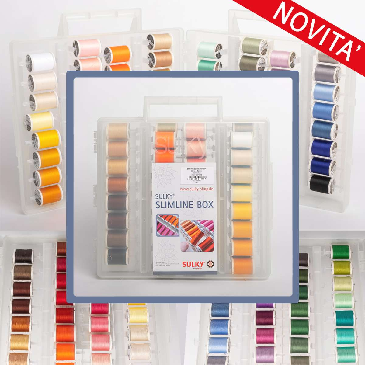 NOVITA' Kit Slimline box