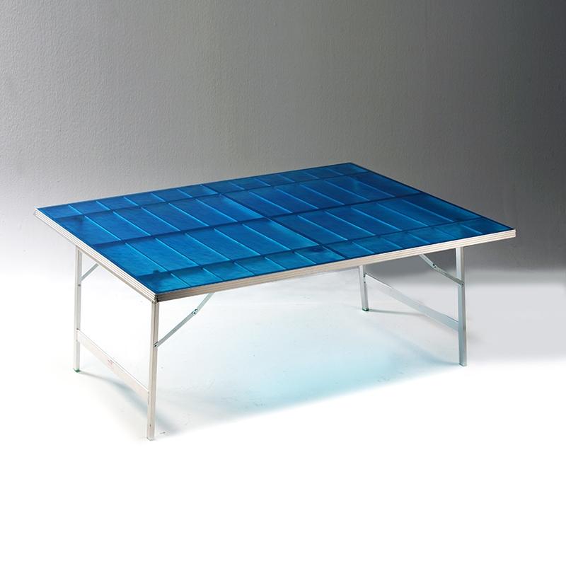Tavoli In Alluminio Pieghevoli Per Mercati.Banco In Alluminio Ripieghevole Rivestito In Vetroresina